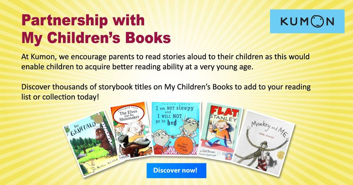 Kumon Partnership with Children's Books
